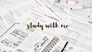 Study With Me: Weekdays | 4 Hours || revisign