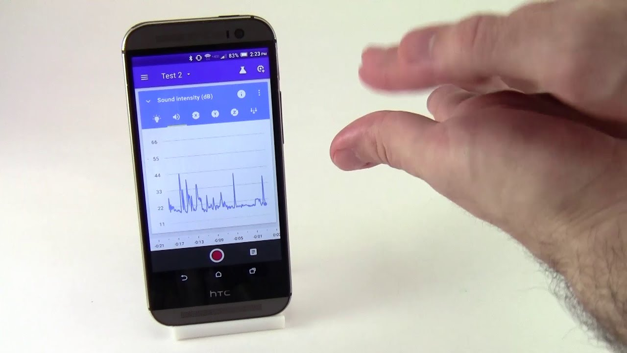 How to Measure Sound with Google's Science Journal App