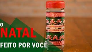 TRANSFORMANDO POTES DE VIDRO – PASSO A PASSO