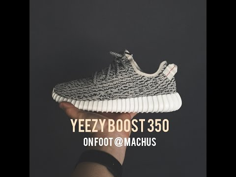 YEEZY BOOST 350 - ON FOOT at MACHUS
