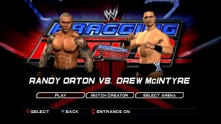 WWE SmackDown VS Raw 2011 PS3 Gameplay - Randy Orton VS Drew McIntyre [60FPS][FullHD]