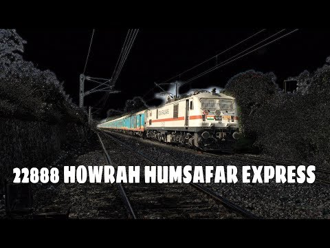 22888 YesvantpurHowrah HumSafar Express [surprise at the end ]