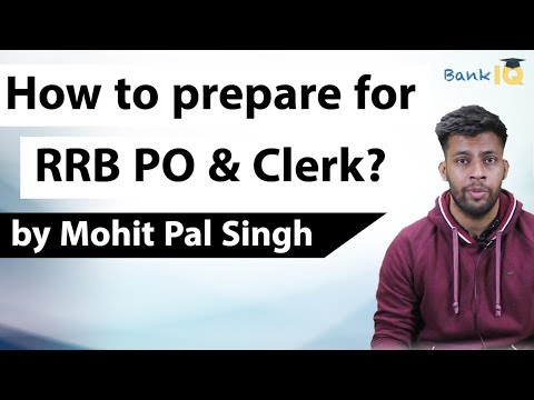 How I cleared RRB PO & Clerk 2018 with Self Preparation - Strategy, Books, Time Table