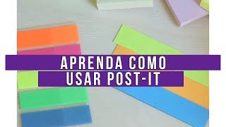 MANUAL DO POST-IT #1 - Como Usar os Post-its | La...