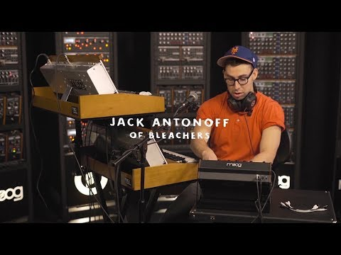 "Jack Antonoff Performs ""All My Heroes"" On Moog Lab Sound"