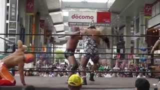 新市街deプロレス~2014火の国シリーズ~九州プロレスメインイベント