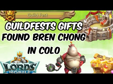Lords Mobile - Fighting Bren Chong In Colo & Guildfests Gifts