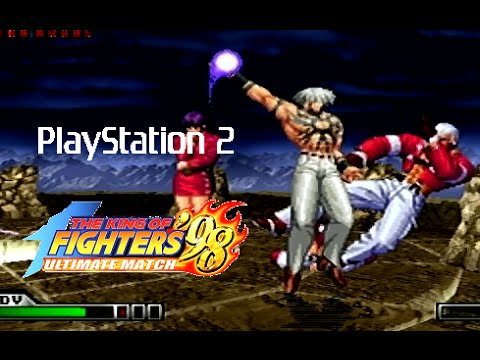 The King Of Fighters 98 Ultimate Match Playthrough Ps2 Youtube