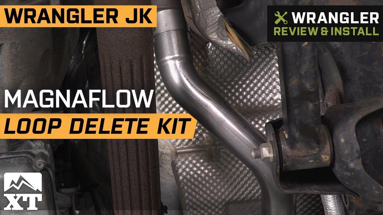 Jeep Wrangler Jk Magnaflow Loop Delete Kit 2012 2018 4 Dr Review