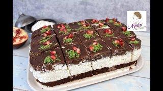 Bol Çikolatalı Hindistancevizli Kokostar pastası tarifi