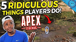 5 Ridiculous Mistakes Apex Legends Players Make In Ranked!