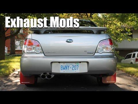 Subaru Impreza 2.5i Exhaust