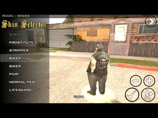GTA SA android GTA IV ped mod