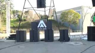 Master Audio Xcellence line array  - Afial Presentation