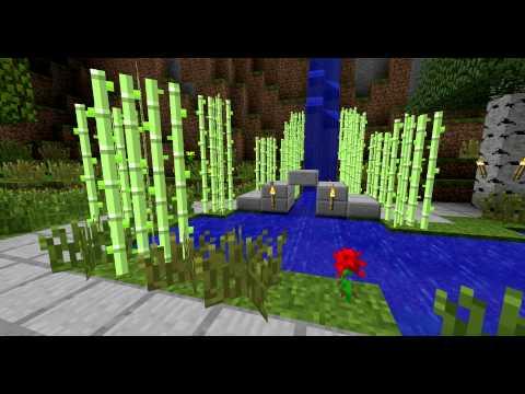 Minecraft Zen Garden  YouTube