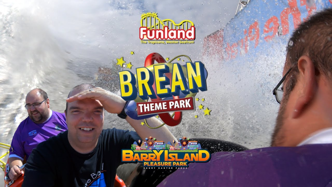 Three Amusement Parks, One Day! - Vlog