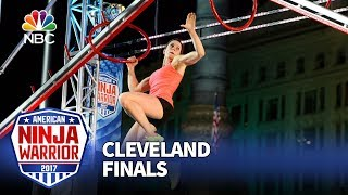Jesse Labreck at the Cleveland City Finals - American Ninja Warrior 2017