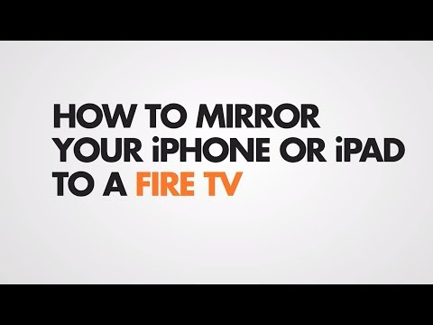 How To Mirror IOS To Amazon Fire TV (Without AirPlay)