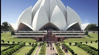 LOTUS TEMPLE , NEW DELHI