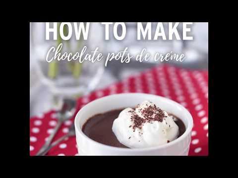 How To Make Chocolate Pot De Créme