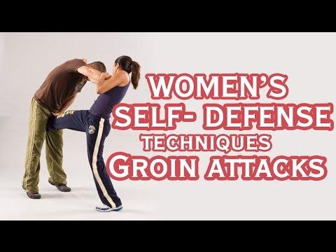 Girl039s self defense groin kick