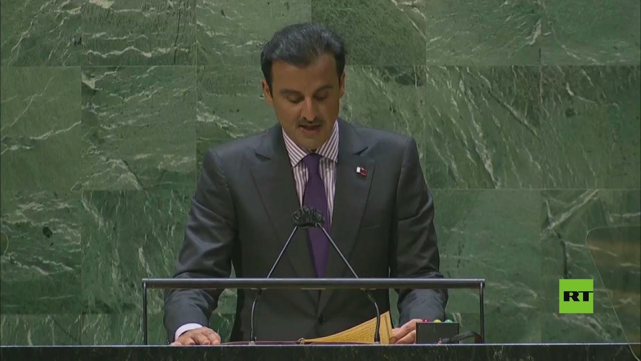 كلمة أمير قطر الشيخ تميم بن حمد ال ثاني أمام الجمعية العامة للأمم المتحدة في دورتها الـ76  - نشر قبل 16 ساعة