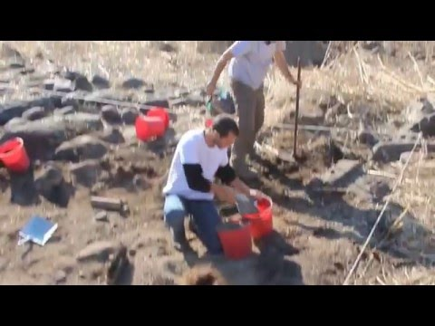 Archaeology at the edge of the Sea of Galilee