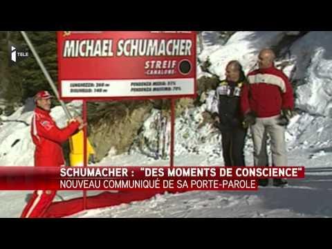Michael Schumacher : des nouvelles encourageantes