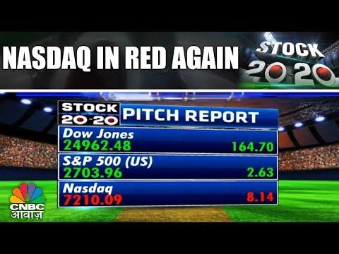 Stock 20-20   Nasdaq Records Dip For 4th Consecutive Day   23rd Feb   CNBC Awaaz