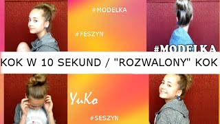 """KOK W 10 SEK / """"ROZWALONY"""" KOCZEK / YuKo"""