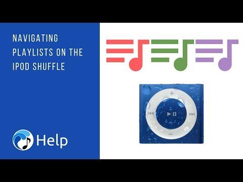 Navigating Playlists on the iPod shuffle