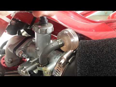 HONDA CT110 WITH A 140CC LIFAN ENGINE