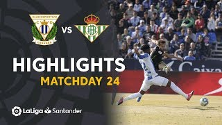 Highlights Cd Leganes Vs Real Betis 0-0