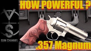HOW POWERFUL is IT? .357 Magnum Revolver