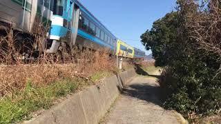 JR四国 2018年 やくおうじ 走行シーン