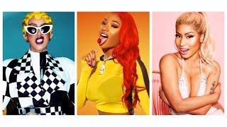 Megan Thee Stallion, Nicki Minaj, Cardi B - Cash Sh** (Remix)