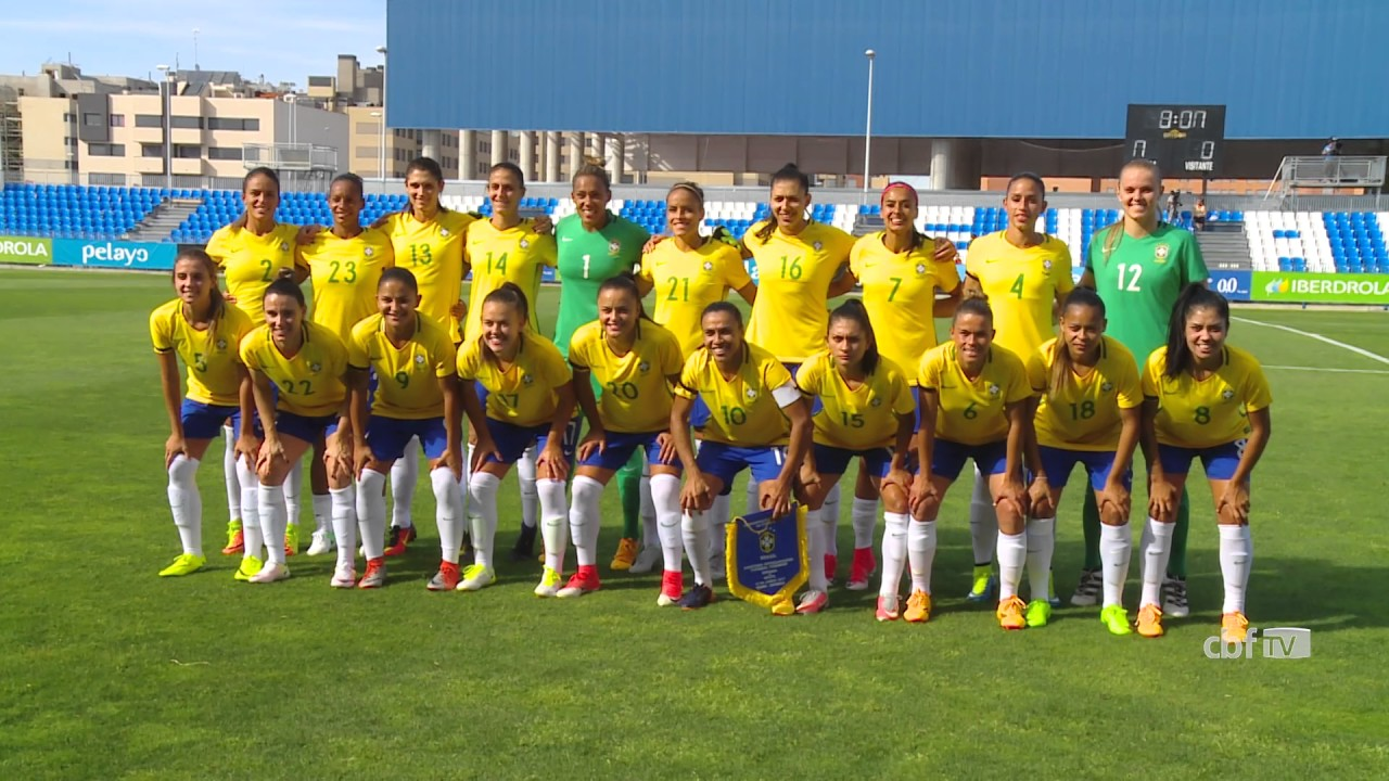 3a3f84a035 Bastidores da vitória de virada da Seleção Brasileira Feminina sobre a  Espanha