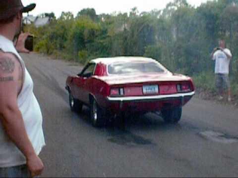 Sweet Muscle Car Burnouts Papa S Dodge Show Youtube