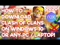 Gambar cover 100% SAFE!!! HOW TO DOWNLOAD CLASH OF CLANS ON PC WINDOWS 10/8/7 OR LAPTOP 2020!