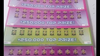 NICE WIN! 4 TIX FROM 4 STORES!! $10 50X SUPER TICKET!