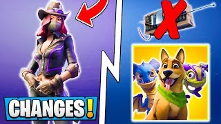 *ALL* Fortnite Season 6 Changes! | Tier 100 Battle Pass, Shadow Stones, Pets!