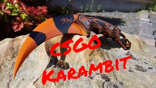 Making a CS:GO Karambit