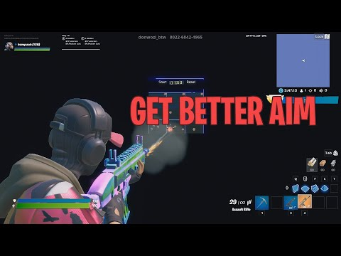 How to Get Better Aim in Fortnite