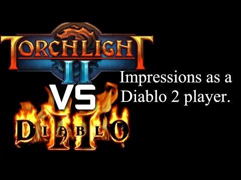 Diablo 2 vs Torchlight 2 - (Impressions as a Diablo 2 Player) |
