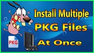 How To Install Multiple PKG On HFW Han Exploited PS3 BETA Testing 2019