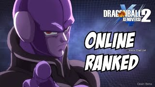 Dragon ball xenoverse 2 Hit Online ranked matches ( with limitations )