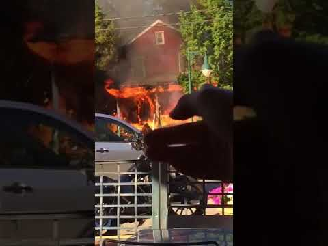 VIDEOS: Victim Hospitalized With Burns In Oradell House Inferno