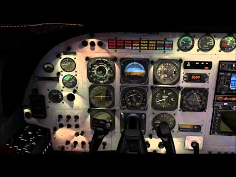 X-Plane 10 llegada y aproximación Ginebra LSGG (Suiza) IVAO, Carenado Cessna Grand Caravan FedEx.
