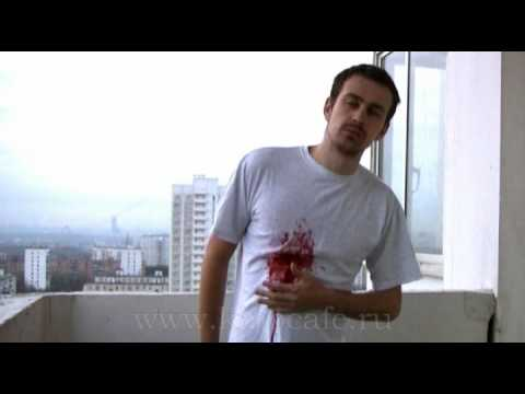 Pyrotechnic Blood Burst (no CGI)