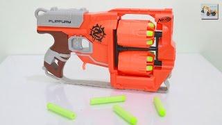 รีวิวปืน Nerf Zombie Strike Flipfury